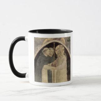 Christus begrüßt zwei dominikanische Mönche, Tasse