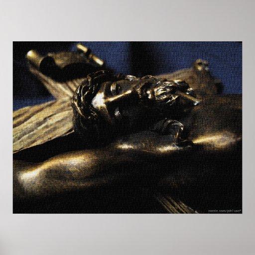 Christus Crucified Plakat