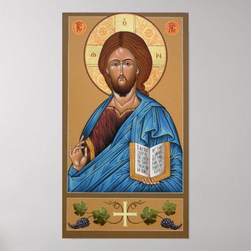 Christus das Licht-Geber Plakat