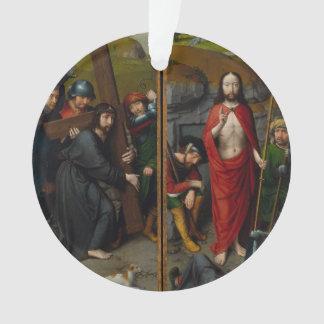 Christus, der das Kreuz trägt Ornament