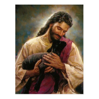 Christus Der gute Hirte Postkarten