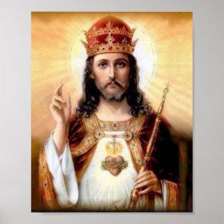Christus der König Poster