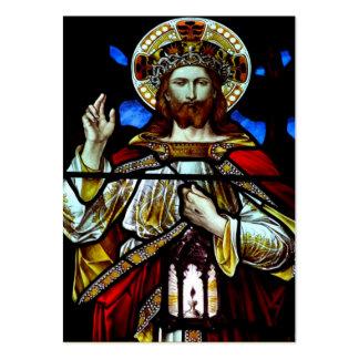 Christus der König Prayer Card Visitenkarte
