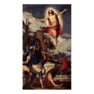 Christus der Lord ist risn' heute, Halleluja! Visitenkarten