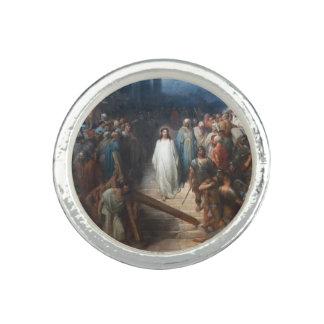 Christus, der Praetorium verlässt Foto Ringe