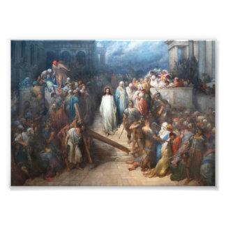 Christus, der Praetorium verlässt Fotodruck