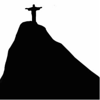 Christus der Redeemer - Corcovado - RJ Freistehende Fotoskulptur