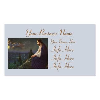 Christus der Redeemer Visitenkarten