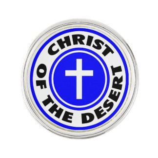 Christus der Wüste Anstecknadel