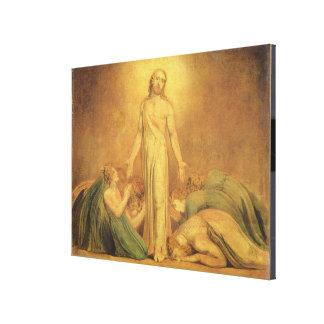 Christus, der zu den Aposteln nach dem Resurre ers Gespannte Galerie Drucke