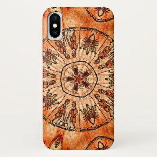 Christus-Dreiheits-Tierkreis-Mandala-Kasten iPhone X Hülle