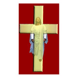 Christus hat für Ihre Sünden gezahlt Visitenkarten