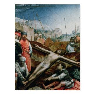 Christus hob auf das Kreuz, 1496-1504 an Postkarte