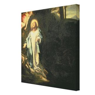 Christus im Garten von Gethsemane 3 Leinwand Drucke