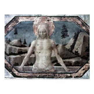 Christus im Grab durch Jacopo Bellini Postkarte