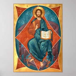 Christus in der Ruhm-Ikone Posterdrucke