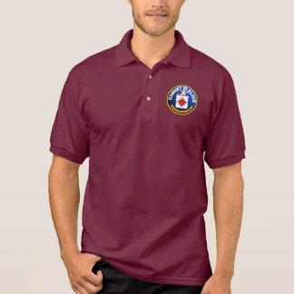 Christus ist - identische CIA-Ikone lebendig Polo Shirt