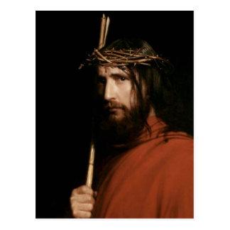 Christus mit den Dornen. Kunst-Postkarten Postkarte