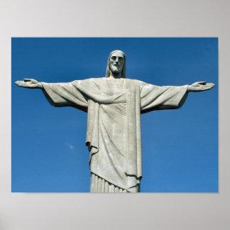 """Christus Plakat des Redeemer"""