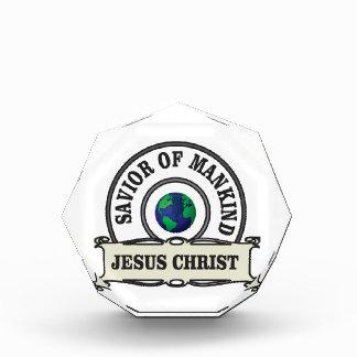 Christus-Retter aller Menschheit Acryl Auszeichnung