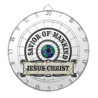 Christus-Retter aller Menschheit Dartscheibe