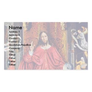 Christus-Segen durch Gallego Fernando Visitenkarten Vorlagen