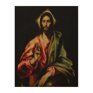 Christus-Segen Holzdrucke