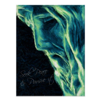 Christus: Suchen Sie Frieden u. üben Sie es aus Posterdrucke