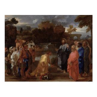 Christus und der Befehlshaber Postkarte