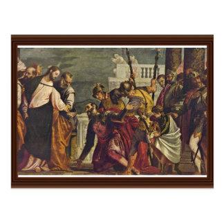 Christus und der Befehlshaber von Capernaum durch Postkarte
