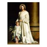 Christus und Kind. Kunst-Ostern-Postkarten