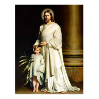 Christus und Kind. Kunst-Ostern-Postkarten Postkarte