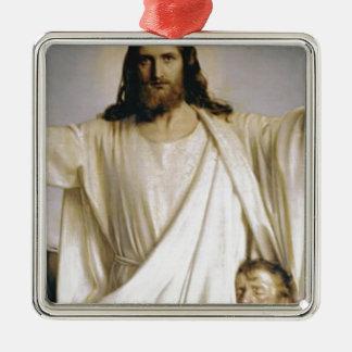 Christus unser Lord Silbernes Ornament