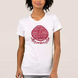 Christus wird gestiegen! in 4 Sprachen T-Shirt