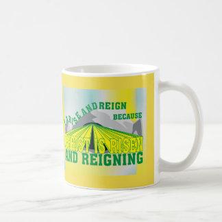 Christus wird gestiegen u. regiertenglisch kaffeetasse
