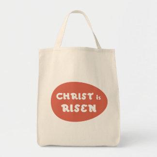 Christus wird, rote Ei-Tasche gestiegen Tragetasche