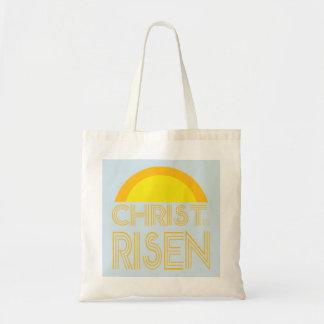 Christus wird, Sonnenschein-Tasche gestiegen Tragetasche