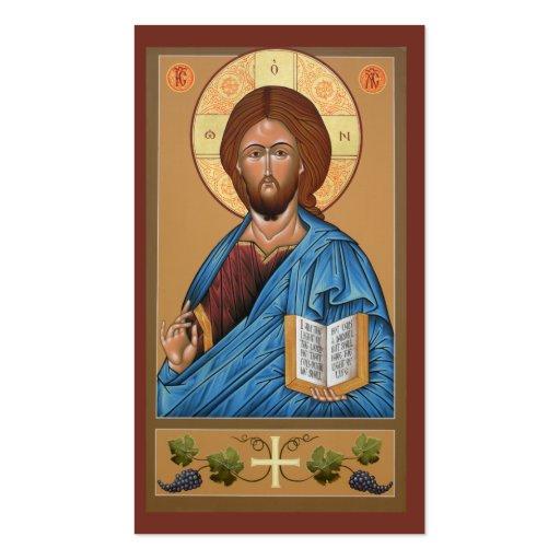 Christusminigebets-Karte Visitenkartenvorlagen