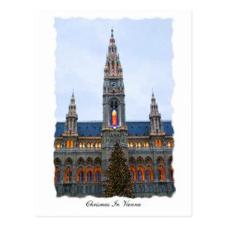 Chritsmas in Wien Postkarte