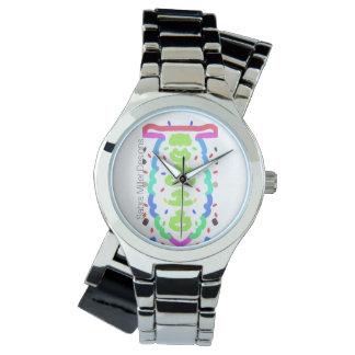 Chrom-Armband-Uhr-Überraschung Uhr