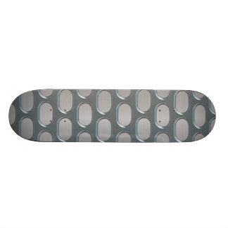 Chrom-Grill über rostfreiem Blick 18,7 Cm Mini Skateboard Deck