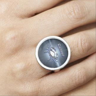 Chrom-Krebs Foto Ringe
