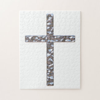 Chrom-Kruzifix-Körper Puzzle