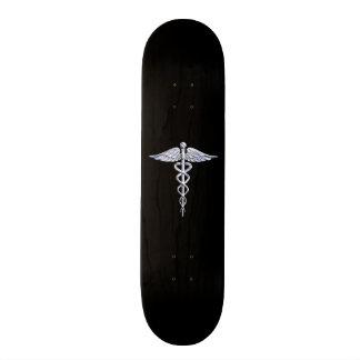 Chrom mag Caduceus-medizinisches Symbol Skateboarddecks