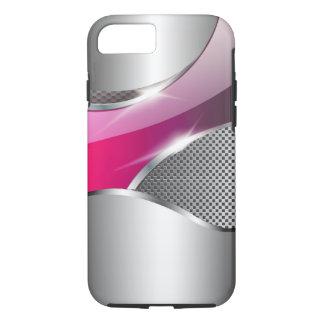 Chrom-Maschen-metallisches Sturzflug fuschia iPhone 8/7 Hülle