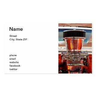 Chrom-Motor Visitenkarten