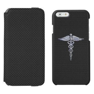 Chromcaduceus-medizinischer Incipio Watson™ iPhone 6 Geldbörsen Hülle