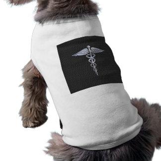 Chromcaduceus-medizinischer T-Shirt