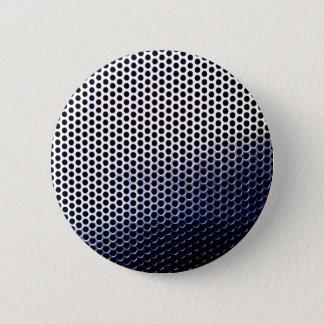 Chrommasche Runder Button 5,7 Cm