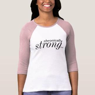 Chronisch starkes 3/4 Hülseraglan-Shirt T-Shirt